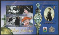 Bermuda SG MS881 2002 Golden Jubilee Miniature Sheet unmounted mint